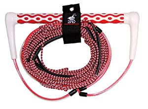Buy AIRHEAD AHWR-6 Wakeboard Rope Dyna Core, Red, 70-Feet by Kwik Tek