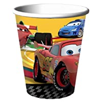 Disney Cars 2 Party 9oz Hot/Cold Cups 8ct by Hallmark Party Express