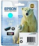 Epson Polar Bear 26 Ink Cartridge - Cyan