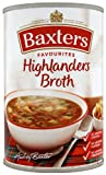 Baxters Favourite Highlander Broth Soup 400 g (Pack of 12)