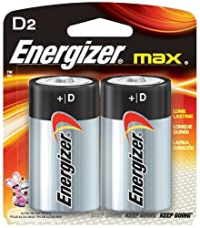Energizer E95BP2 Max Alkaline Battery