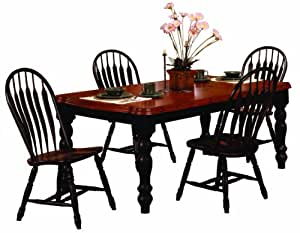 Sunset Trading Built Up Extension Table Dining Room Set Table