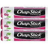 Chapstick Classic Balm Lip SPF 4 Cherry -- 0.15 Oz Each / Pack Of 3