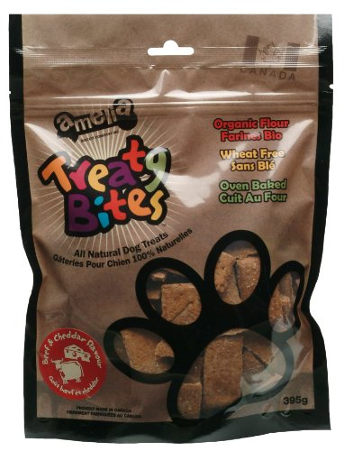 Sale alerts for Amelia Biscuit Company Inc. Amelia Biscuit Co. Treaty Bites Beef and Cheddar Flavour, 395gm - Covvet