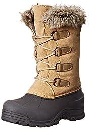 Northside Snow Drop II Cold Weather Boot (Little Kid/Big Kid), Birch, 1 M US Little Kid