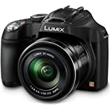 "Panasonic Lumix DMC-FZ72EF-K Appareil photo bridge Ecran 3"" (7,62 cm) 16,1 Mpix Zoom optique 60x USB Noir"