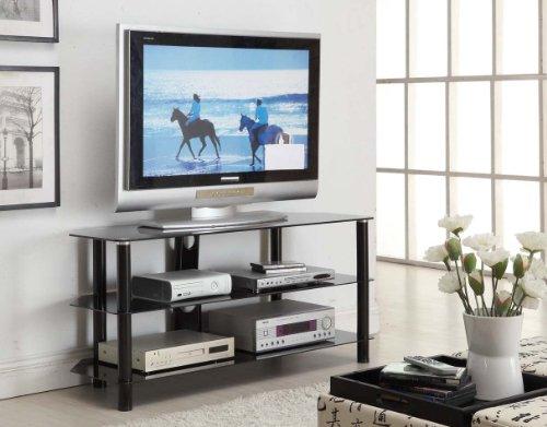 Innovex Concord TV Stand, 52-Inch, Black