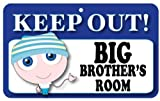 Keep Out Door Sign - Big Brother's Room