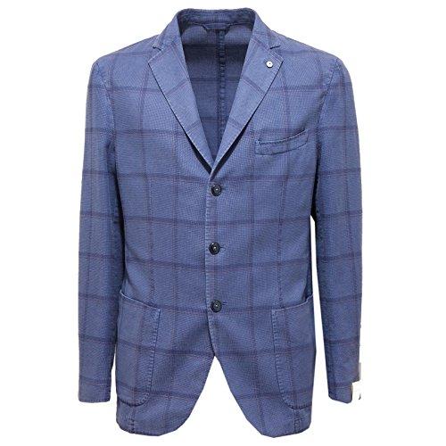 2706O giacca L.B.M. 1911 blu giacche uomo jackets men [50 R]