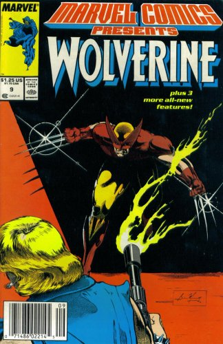 Marvel Comics Presents #9 : Wolverine, Man-Thing, Cloak, & El Aguila (Marvel Comic Book 1988) (Marvel Comics Presents 9 compare prices)