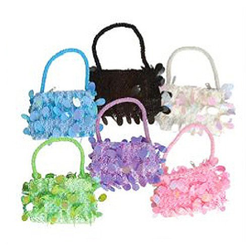 Small Assorted Sequin Diva Purses (1 dz)