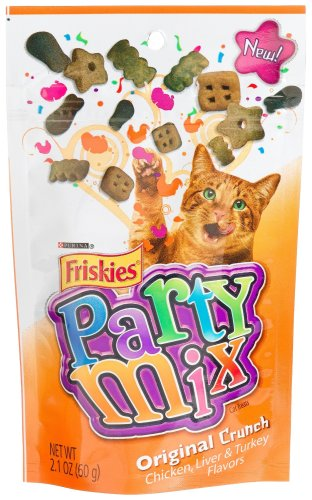 Friskies Party Mix, Original Crunch Cats Treats,