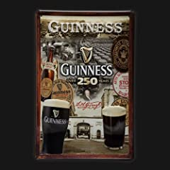 Guinness 250 Years Metal Sign 7.8 x 11.8 - inch