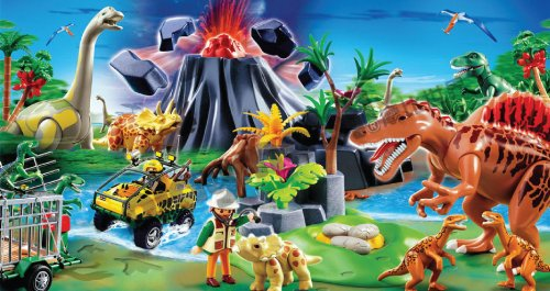 Playmobil 4170 triceratops with baby ebay - Dinosaur playmobile ...