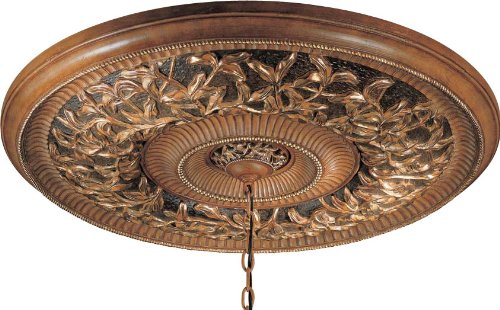 Minka Lavery 1577-477 Ceiling Medallion from the Salon Grand Collection, Florence Patina