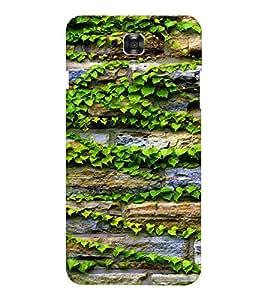 EPICCASE Bricks and leaves Mobile Back Case Cover For LG X Power (Designer Case)