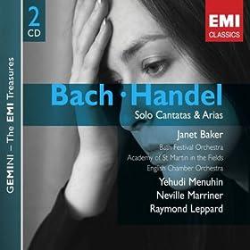 Bach & Handel: Solo Cantatas & Arias