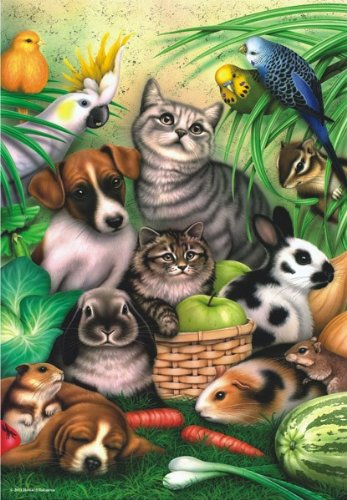 Magic Pets Jigsaw Puzzle, 260-Piece
