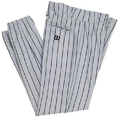 Wilson Youth Team Poly Warp Knit Pinstripe Baseball Pant, Gr