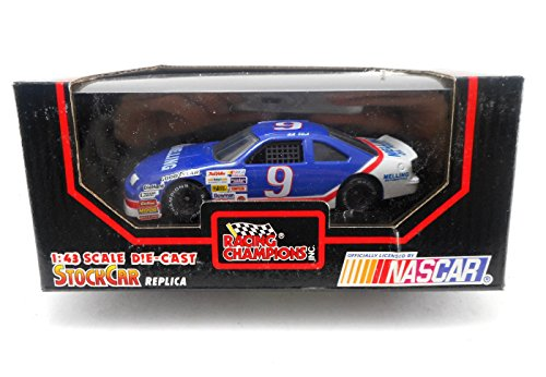 Racing Champions Bill Elliot #9 1:43 Stock Car Replica - 1