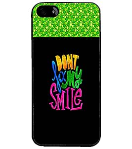 PrintDhaba Quote D-2678 Back Case Cover for APPLE IPHONE 5S (Multi-Coloured)