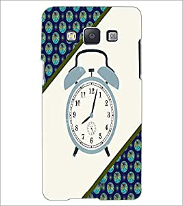 PrintDhaba Alarm Watch D-4268 Back Case Cover for SAMSUNG GALAXY E5 (Multi-Coloured)