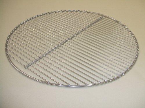 edelstahl grillrost rund f r kugelgrill 47cm. Black Bedroom Furniture Sets. Home Design Ideas