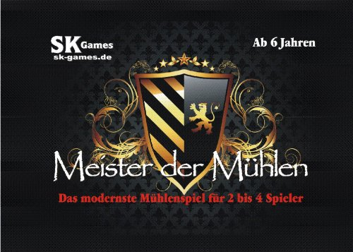 Meister der Mühlen - Das modernste Mühlenspiel