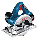 Bosch GKS 18 V-LI Professional Cordless Circular Saw 18 V (includes 2 x 4.0 Ah Lithium Ion CoolPack Batteries)