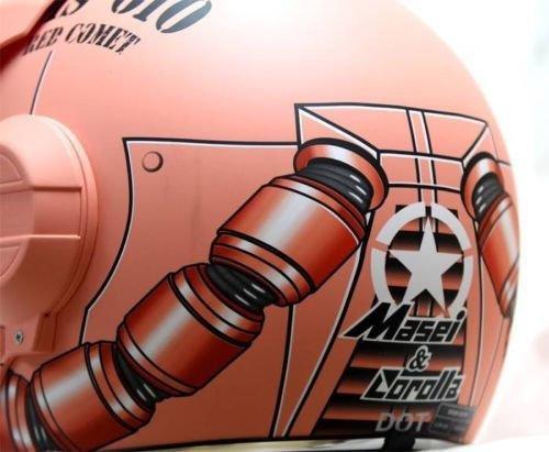 Masei フルフェイスへルメット ロボヘル610Z レッドHELMET M MA-610Z-R-M