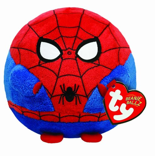 Ty Beanie Ballz Spiderman Plush - Regular front-466044
