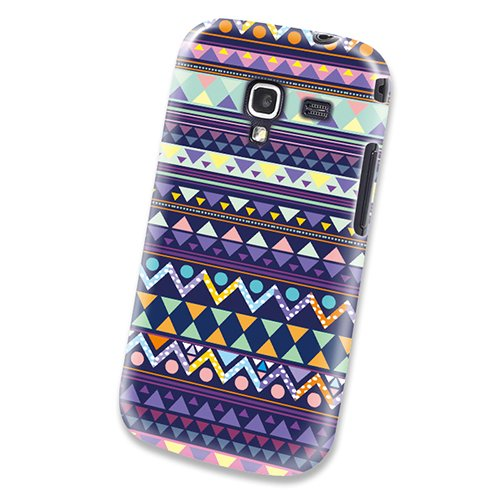 Xtra-Funky Exclusive Aztec Tribal Mexican Patterned Plastic Hard Case Cover Shell For Samsung Galaxy Ace 2 (I8160) - Design A2