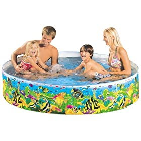 Child's Plastic Kiddie Baby Toy Swimming Pool