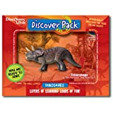 Dinosaur Discover Pack, Triceratops ~ Discovery Post