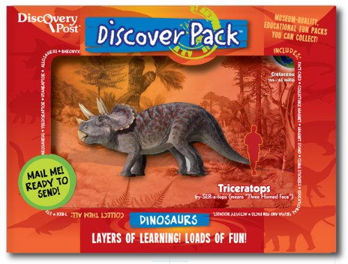 Dinosaur Discover Pack, Triceratops - 1