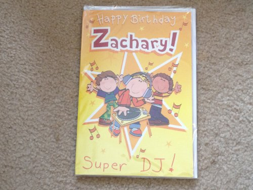 Happy Birthday Zachary - Singing Birthday Card