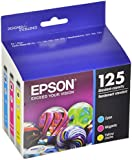 Epson DURABrite T125520 Ultra 125 Standard-capacity Inkjet Cartridge Color Multipack -1 Cyan/1 Magenta/1 Yellow