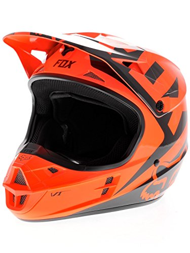 Fox Orange 2015 V1 Race MX Helmet