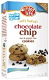 Enjoy Life Chewy Chocolate Chip Soft Baked Cookies, Gluten, Dairy & Nut Free,  6-Ounce Boxes (Pack of 6)
