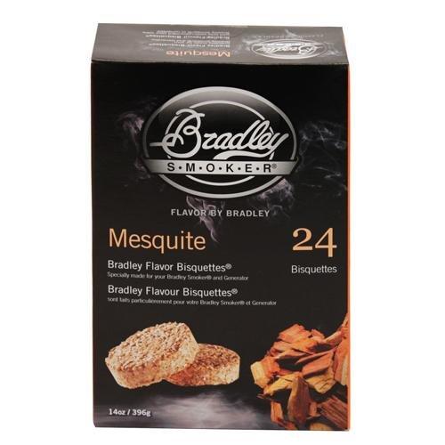 Bradley Smoker Usa Mesquite Bisquettes 24-Pack / Btmq24