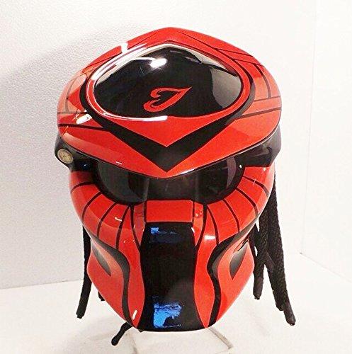 Alien Helmet, Predator Helmet, Motorcycle Helmet - costume (Handmade) - Thailand : PDT1006RD