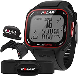 Polar RC3 GPS Bike CardiofrequencemÃstre mixte adulte Noir 3.3-4 cm