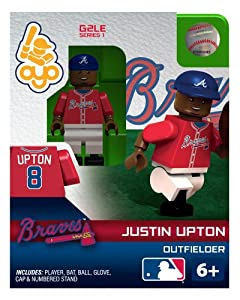 Justin Upton 2013 Generation 2 Oyo Mini Figure Atlanta Braves by OYO