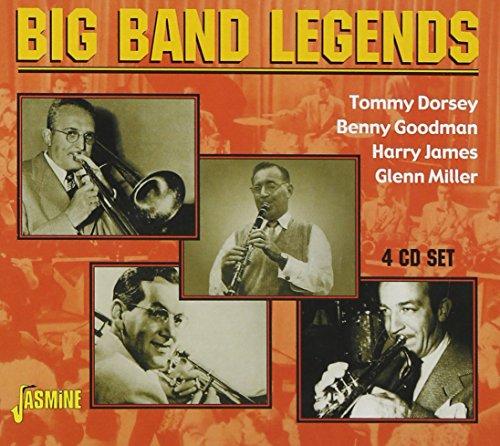 Tommy Dorsey - Big Band Legends [original Recordings Remastered] 4cd Set - Zortam Music