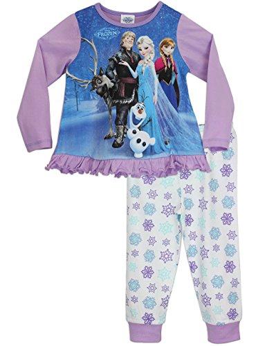 Disney Frozen - Pigiama a maniche lunghe per ragazze - 9 - 10 anni