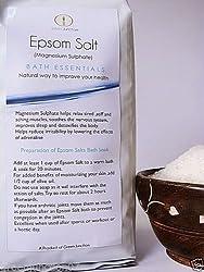 Green Junction Pure Epsom Bath Salt (Magnesium Sulfate ) - 1 kg Pack (Bathing & Spa)