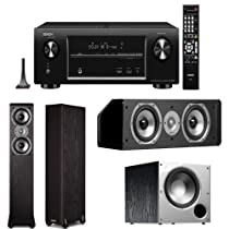 Denon AVR-X4000 In-Command 7.2 Channel 4K Ultra HD Networking Home Theater Receiver Plus A Polk Audio Speaker Package!