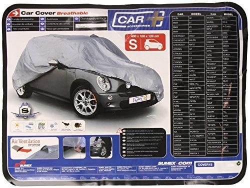 Sumex Cover1S Carplus - Telo Copriauto Universale - Mod. Classic Cover - S - 400X160X120 Cm