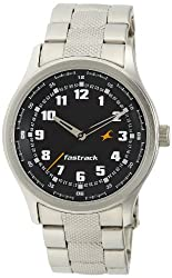 Fastrack Essentials Analog Black Dial Mens Watch - NE3001SM01