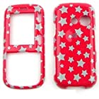 CASE FOR LG Rumor 2, Cosmos, Banter, Script HARD COVER GLITTER STARS TP886 Rumor 2, Cosmos, Banter, Script, LX265 Alltel, Sprint, Verizon, U.S Cellular, Virgin Mobile